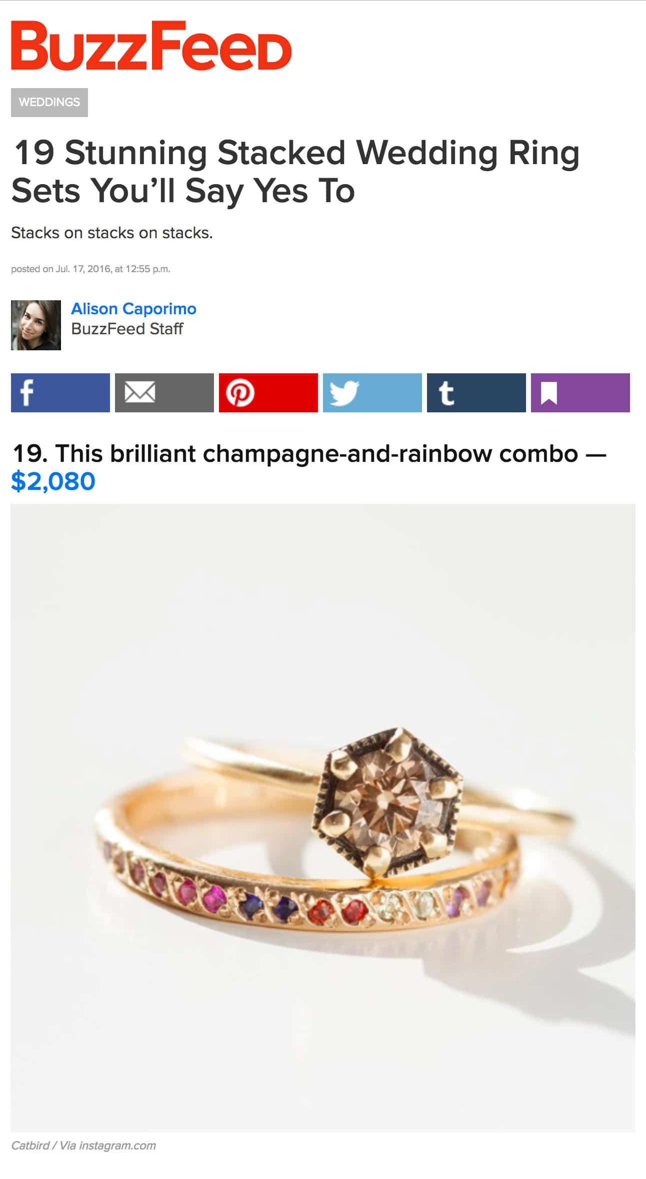 Lovely Wedding Rings Buzzfeed Wedding