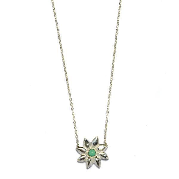 Elisa Solomon - Sterling Silver Flower Power Necklace