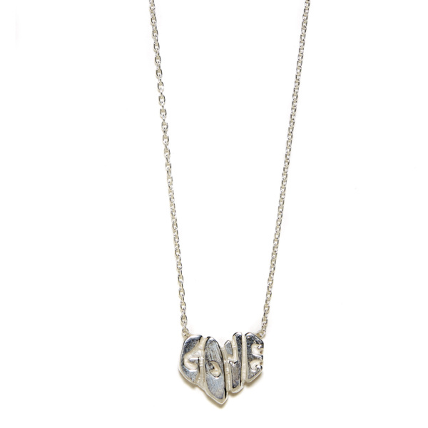 Elisa Solomon - Sterling Silver Love Heart Necklace