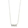 Elisa Solomon - Sterling Silver Ma Necklace