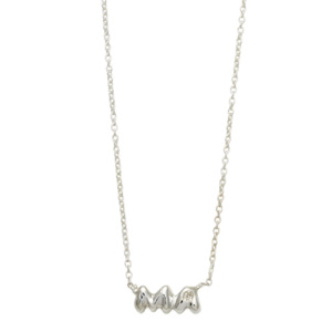 sterling silver ma necklace