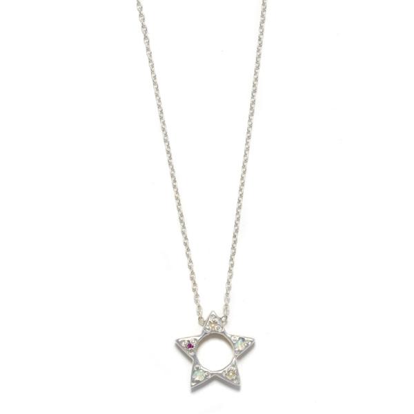 Elisa Solomon - Sterling Silver Star Necklace