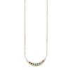 Elisa Solomon - Sterling Silver Tie Dye Moon Necklace