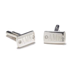 sterling-silver-white-sapphire-cufflinks