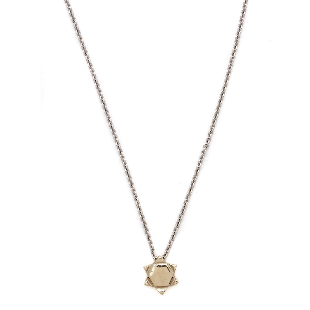 white gold necklace elisa solomon jewelry