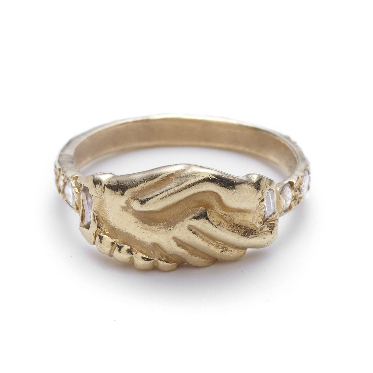 Karat Diamond Ring On Hand