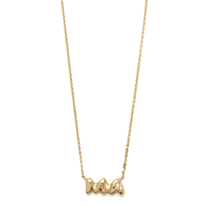 Elisa Solomon - Yellow Gold Ma Necklace