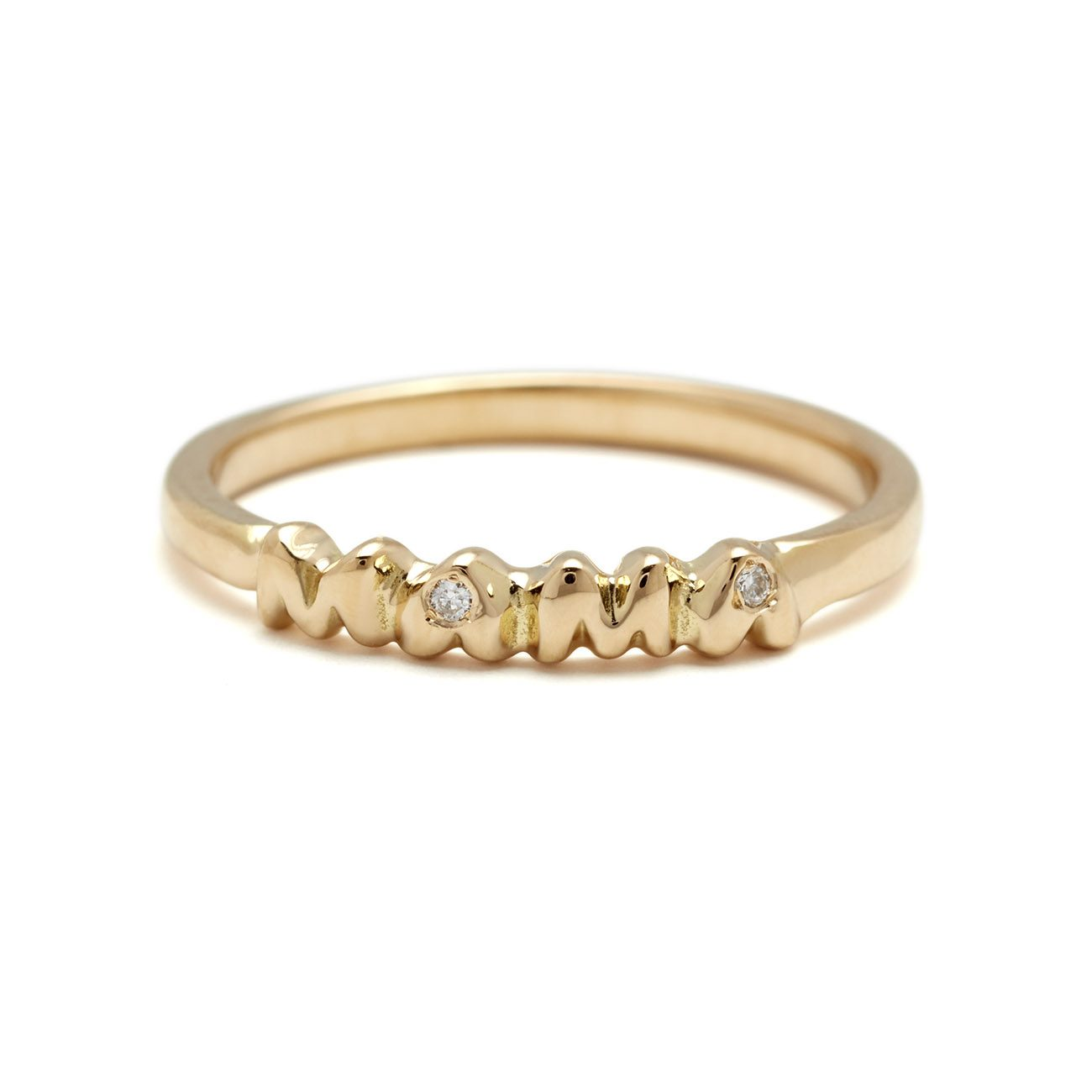 yellow gold mama band