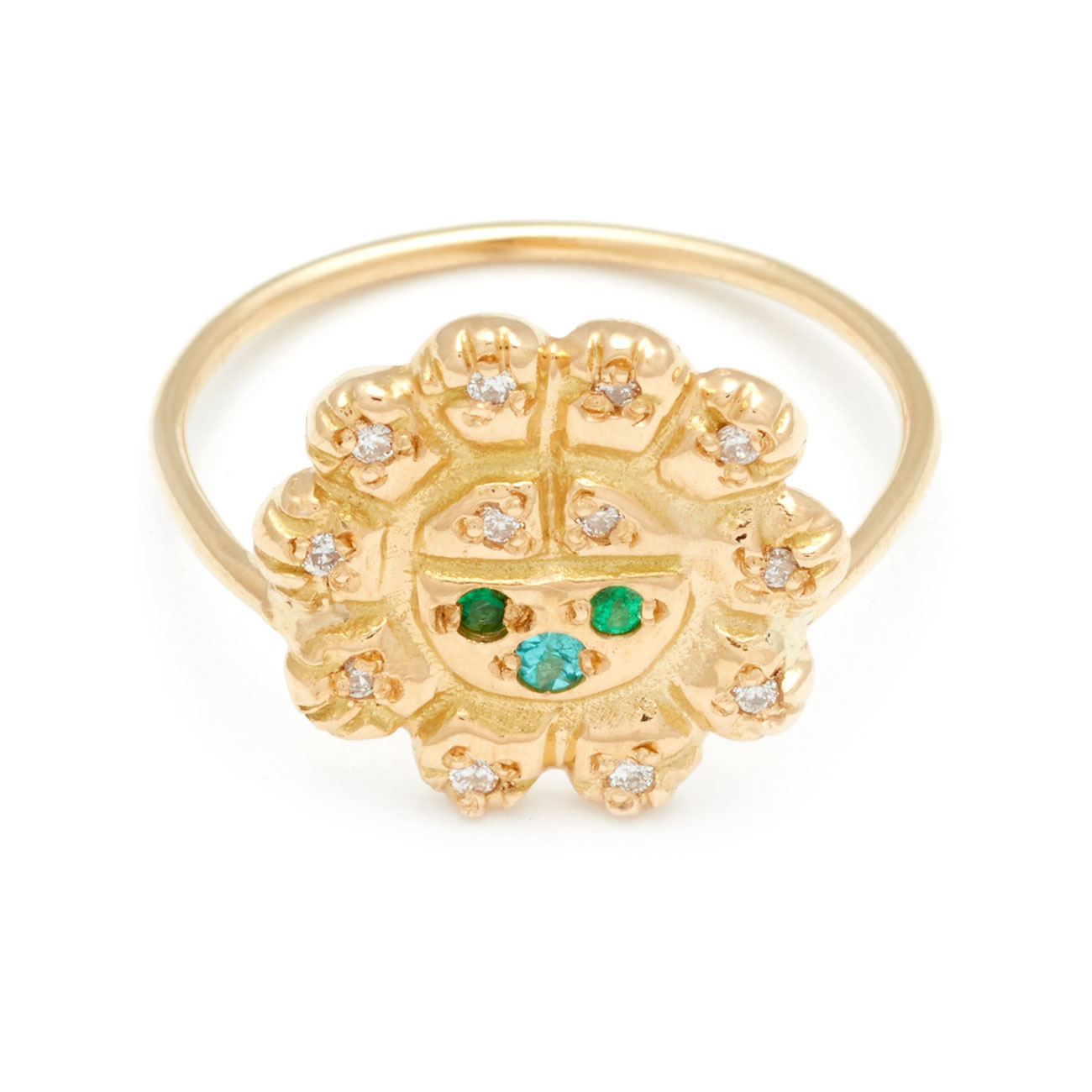 Sun Spirit Ring Elisa Solomon Jewelry