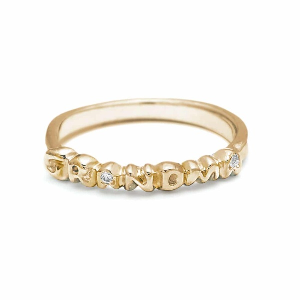 Yellow Gold Grandma Band