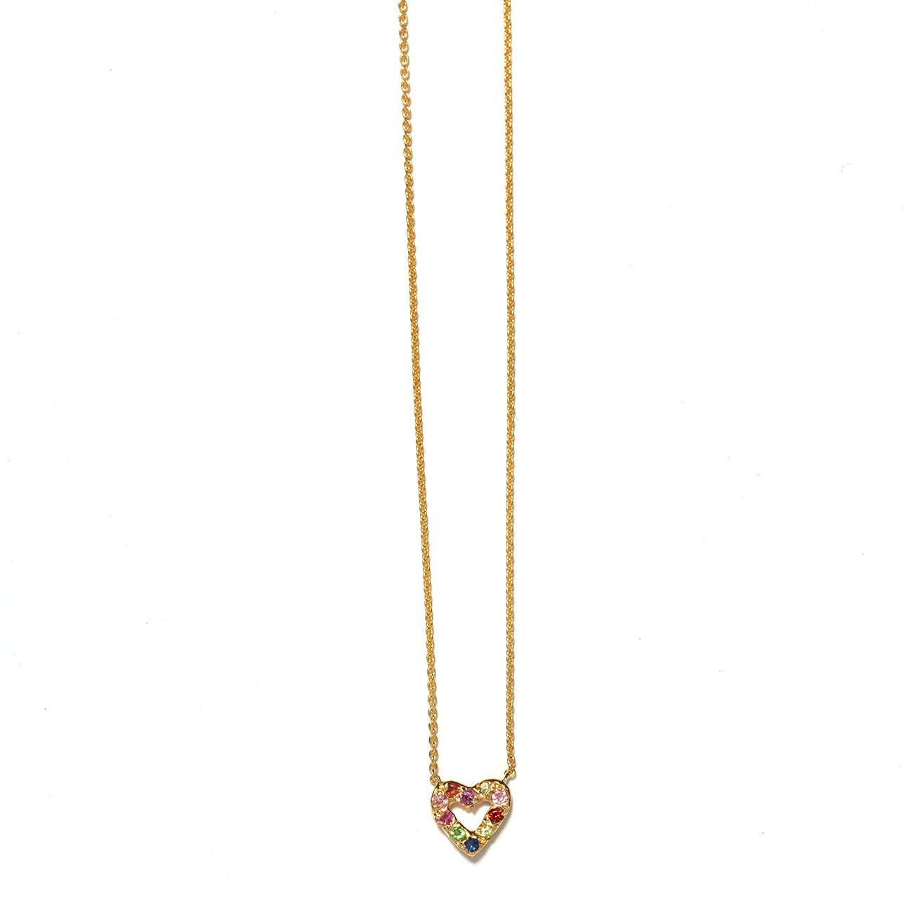 open jennifer necklace heart diamond meyer townhome jewellery
