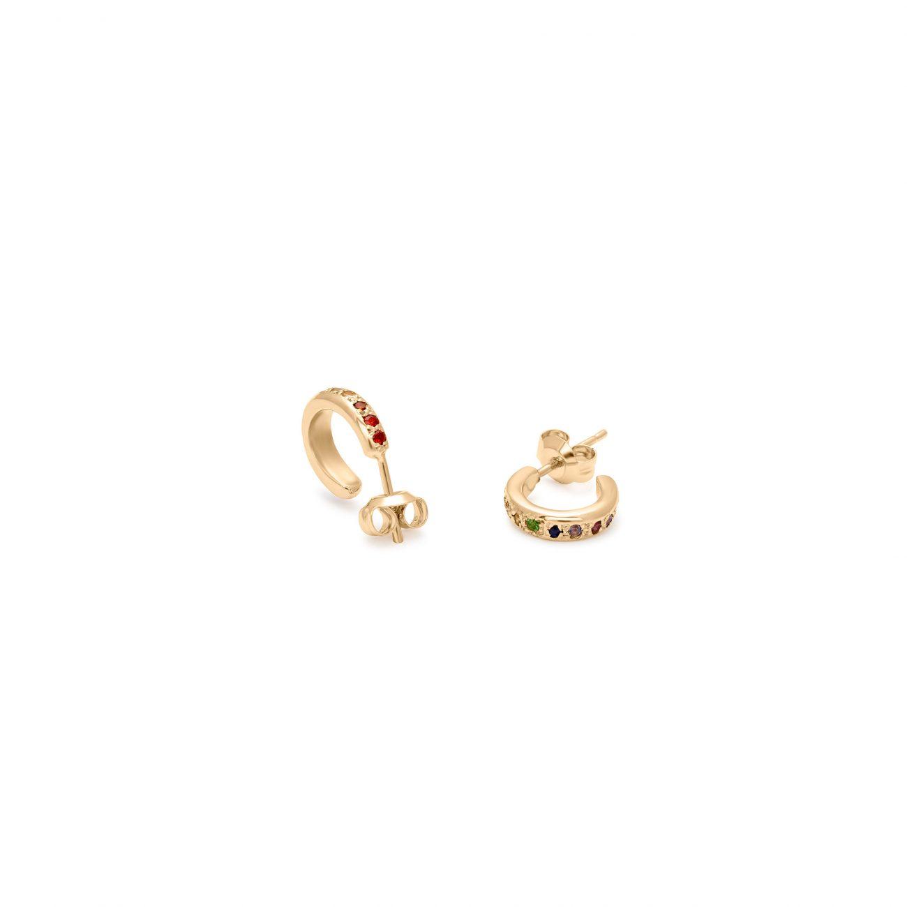 Earrings_TieDyeHuggies