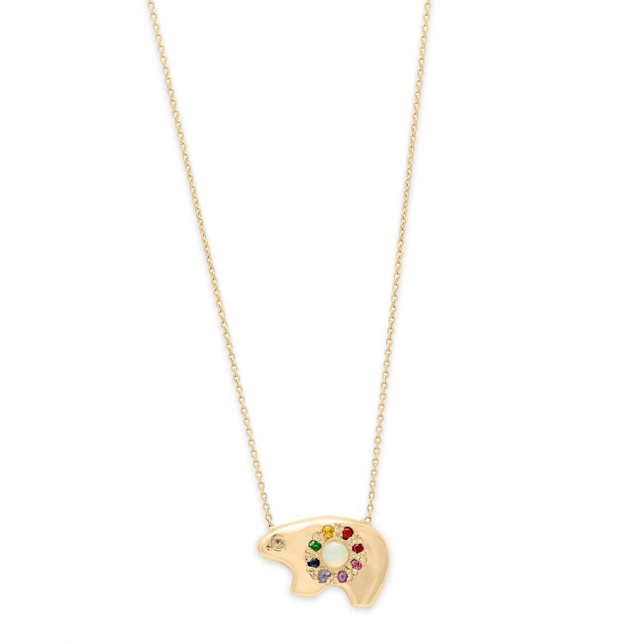 Necklace_OpalRainbowBear