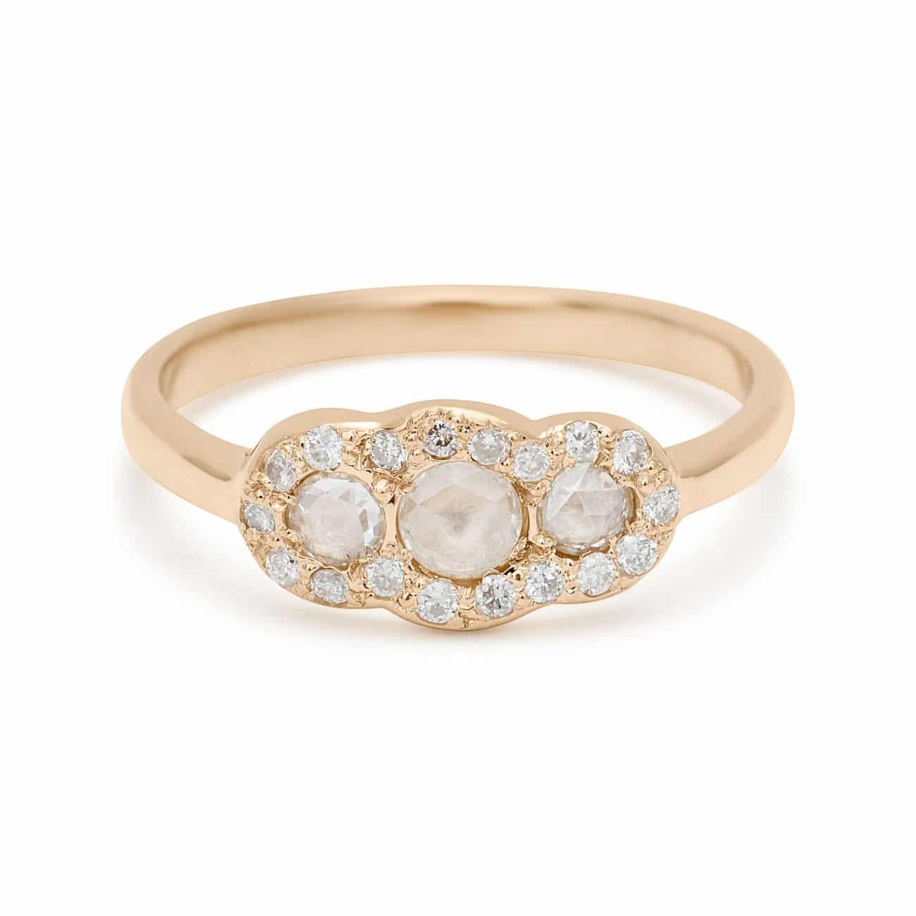 three-rosecut-diamond-ring
