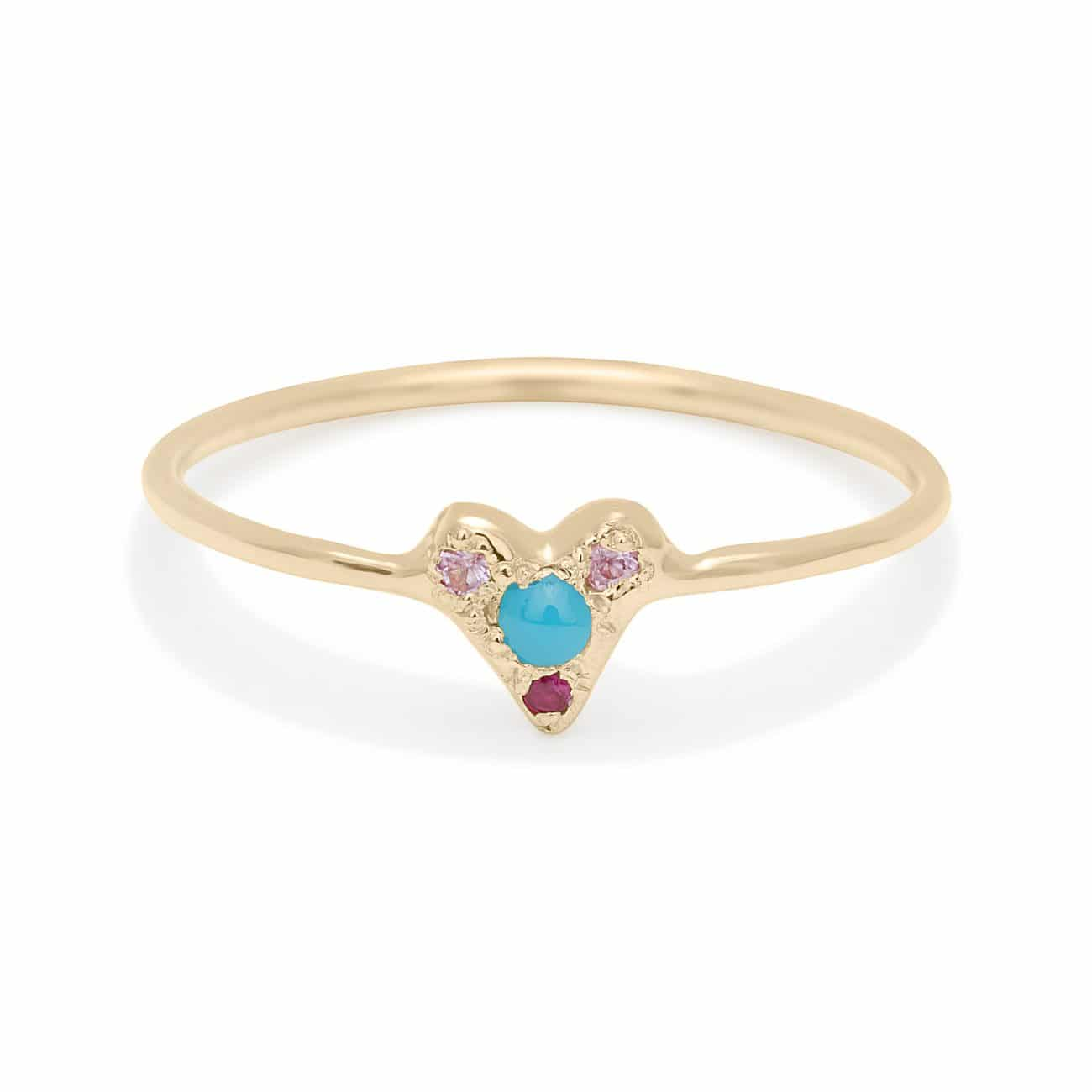 turquoise-puff-heart-ring