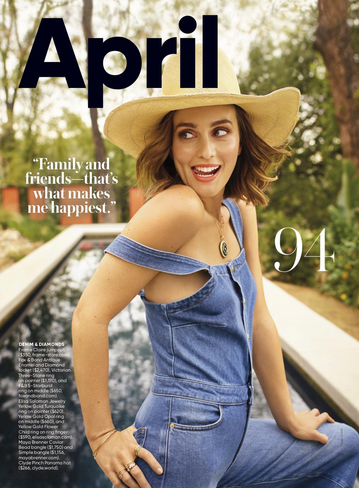 Jewelry in Shape Magazine April 2019