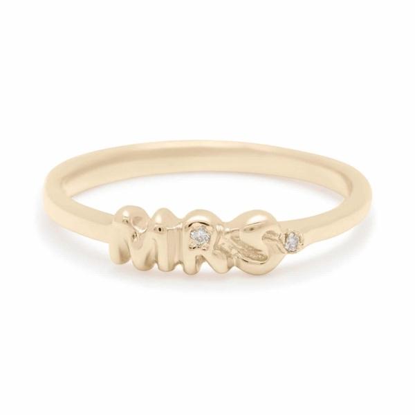 Mrs. Diamond Ring - Yellow Gold
