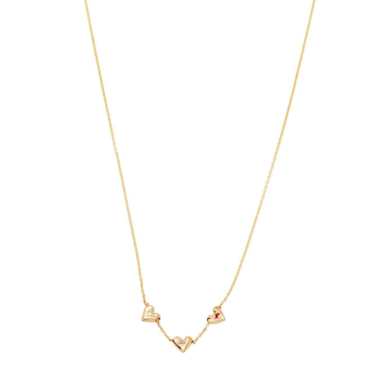 Teeny Tiny Heart Necklace - Yellow Gold